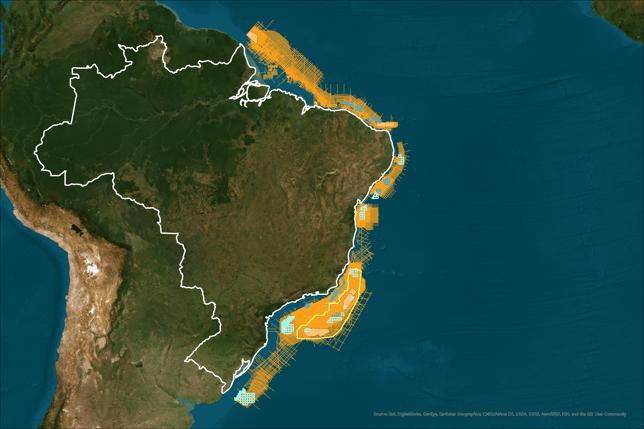 Brazil Permanent Offer Blocks Map