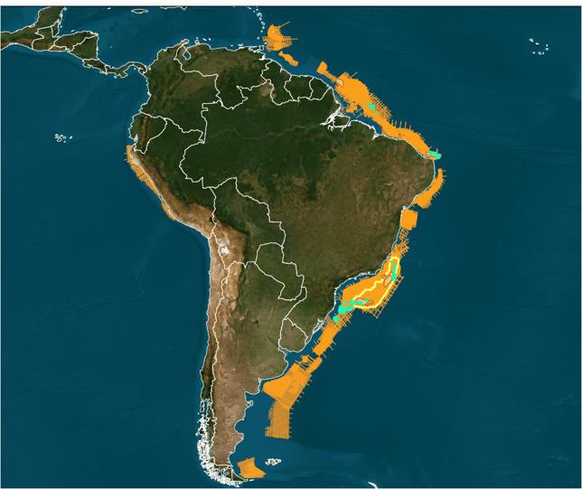 Brazil Rnd 17 coverage map