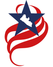 Liberia license round logo-white text