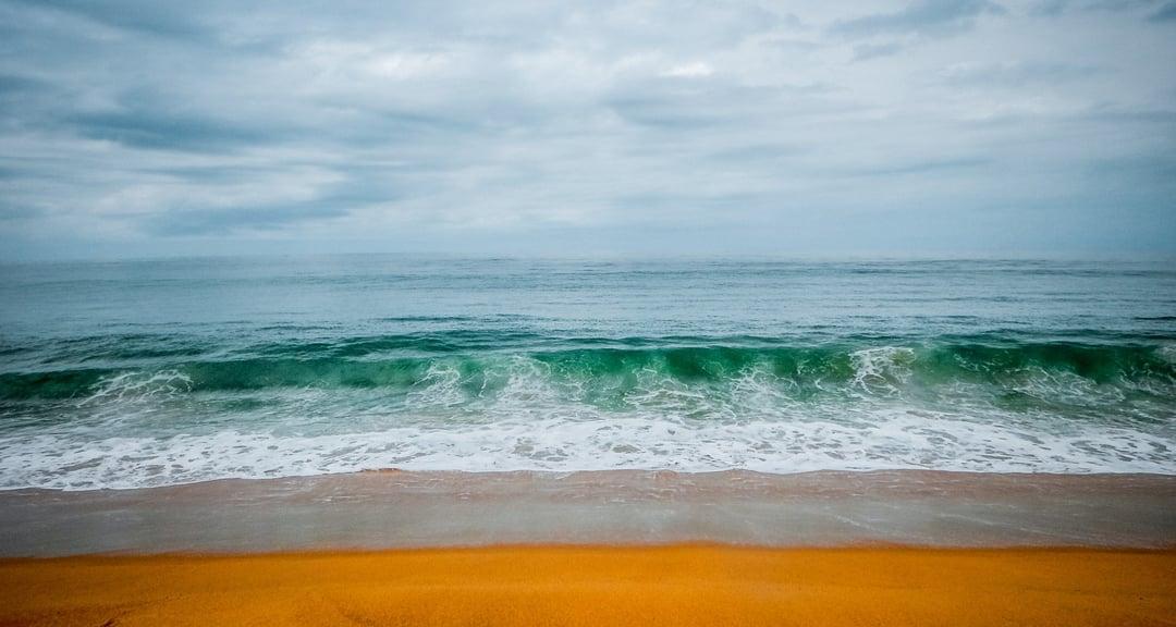 Liberian sea view